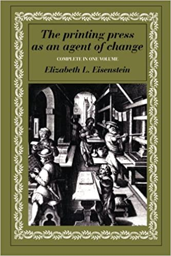 The Printing Press as an Agent of Change