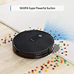 Robot Vacuum, Max Suction Robotic Vacuum Cleaners, 2.7″ Super Thin & Powerful Battery Life with Large Dust Bin, Daily Schedule, Self-Charging Robot Vacuums, Ideal for Pet Hair, Carpet, Hardwood Floors