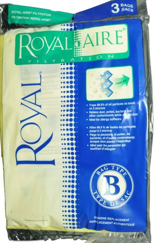 royal b vacuum bags - 5