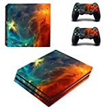 UUShop PS4 Pro Skin Vinyl Decal Cover for Sony PlayStation PRO Console Sticker Cosmic Nebular