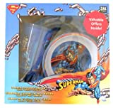 Superhero Superman Dinnerware: 3 pcs Children dinnerware