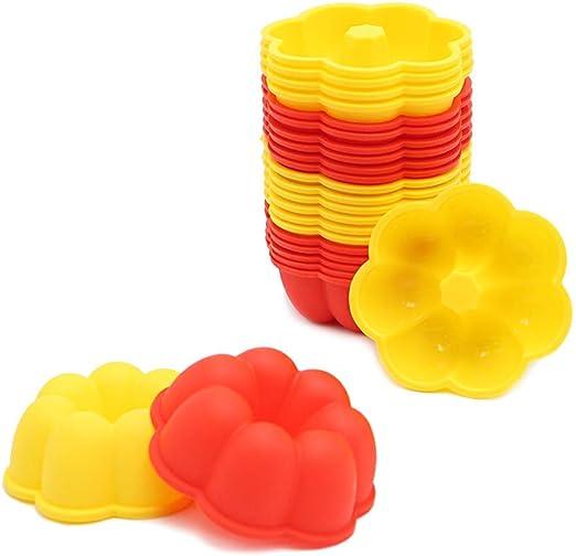 Amazon.com: Moldes de silicona antiadherentes para ...