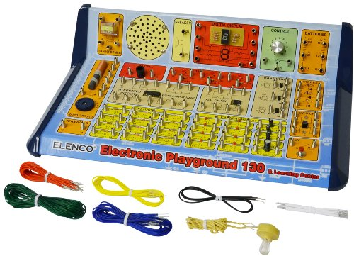 51y8bsGw22L - Elenco  130-in-1 Electronic Playground and Learning Center