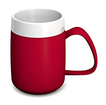 Ornamin; 2 Taza térmica (206), 320 ml, color rojo: Amazon.es ...