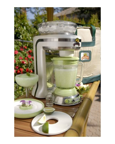 Margaritaville Key West Frozen Concoction Maker with Auto or Manual Shave and...