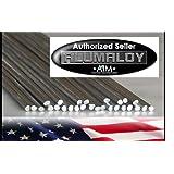 ALUMALOY 10 Rods: Aluminum REPAIR Rods No Welding Fix Cracks Drill Tap Polish or Paint by Alumaloy