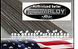 (US) ALUMALOY 10 Rods: Aluminum REPAIR Rods No Welding Fix Cracks Drill Tap Polish or Paint