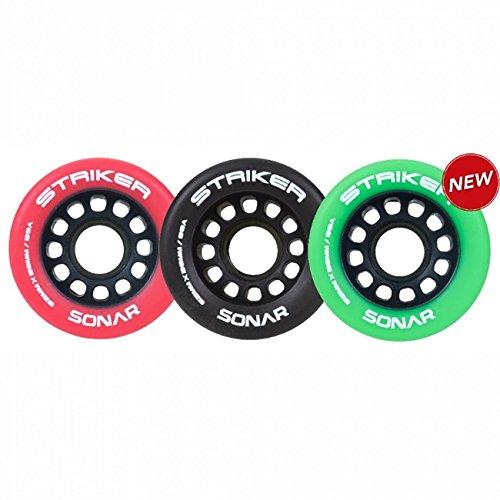 Sonar Striker Roller Derby Wheels 88A Red 8pk