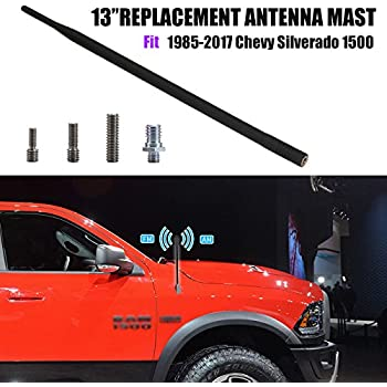 AntennaMastsRus 2004-2006 - Spring Steel Internal CORE 13 All-Terrain Flexible Rubber Antenna is Compatible with Chevrolet Colorado