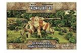 Warlord Games, German Zeus Heavy Mechpanzer, Konflikt '47 Wargaming Miniatures