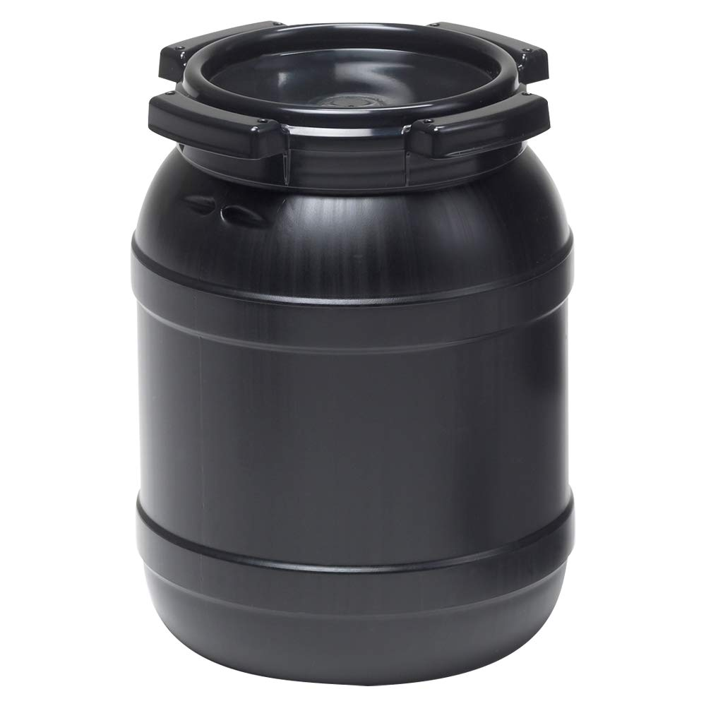 1.6 Gallon Wide Mouth Stackable HDPE Drum w/Lid by Product Conect (Image #1)
