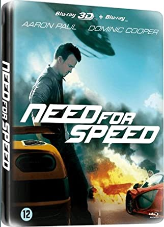 Amazon Com Need For Speed 2 Disc Set 3d 2d Steelbook Edition Blu Ray Reg A B C Import Netherlands