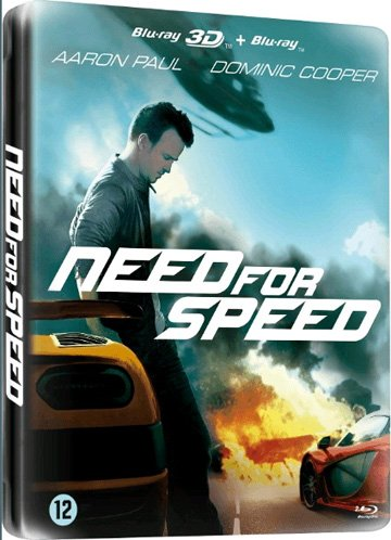 Need for Speed - 2-Disc Set (3D & 2D) (Steelbook Edition) [ Blu-Ray, Reg.A/B/C Import - Netherlands ]