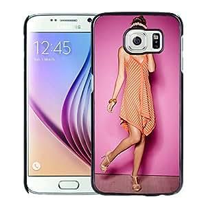 New Custom Designed Cover Case For Samsung Galaxy S6 With Sandra Kubicka Girl Mobile Wallpaper(5).jpg