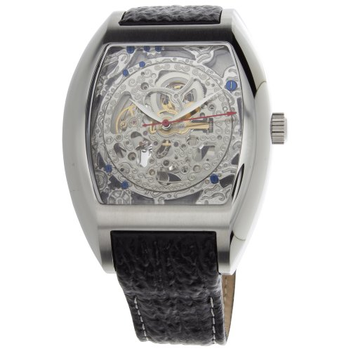 1302SSSL Beethoven's 2nd Analog Display Automatic Self Wind Black Watch ()
