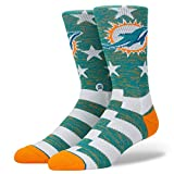 Stance M558C18DOB Men's Dolphins Banner Sock