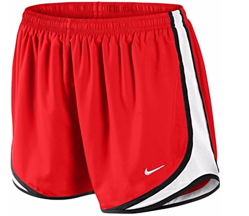 Tempo Short Red Women's Blk White NIKE p4Aqxzz