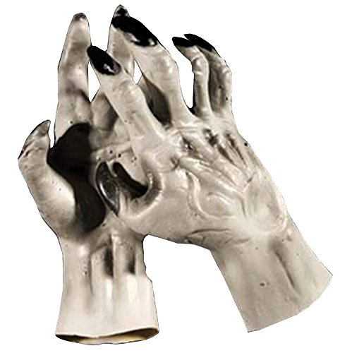 Werewolf Hands Grey Costume