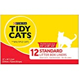 Purina Tidy Cats Standard 22'' X 30'' with Ties Litter Box Liners - (6) 12 ct. Box