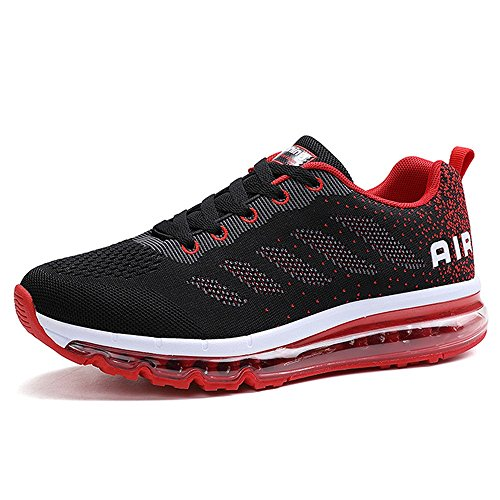 Mareset Men's Lightweight Air Cushion Running Shoes Women's Breathable Sport Shoes Shockproof Sneakers US5.5-11