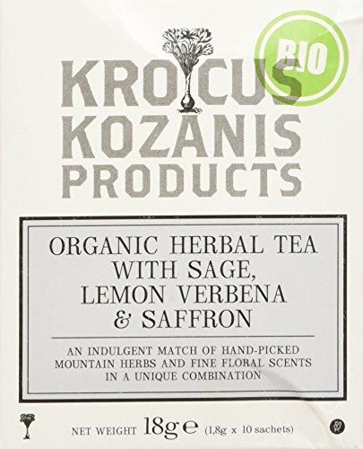 Krokos Kozanis Organic Herbal Tea with