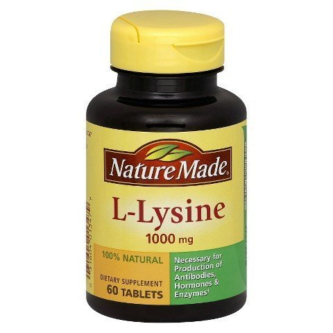 Nature Made L-lysine 1000 Mg Tablets - 60 Count by Nature (L-lysine 60 Tablets)