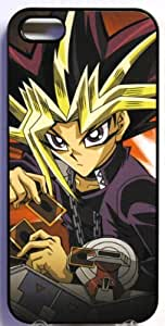 (327bi4) Yu-Gi-Oh! Yugi Apple iPhone 4 / 4S Black Case YuGiOh