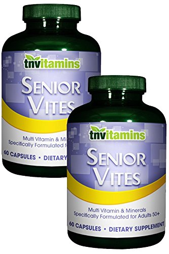 Total Nutrition Senior Vites Multivitamins For 50+ Adults - 120 (Royal Jelly 50 Capsules)