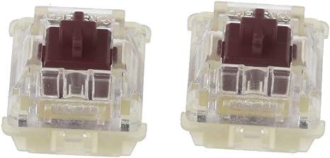 Huiingwen 2 unidades Cherry MX Brown interruptor, original ...