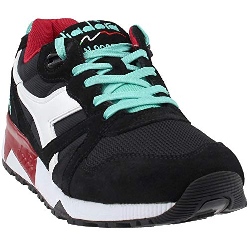 sports shoes 22741 e2a3b Diadora Unisex N9000 III Black Vanilla 11.5 Women   10 Men M US