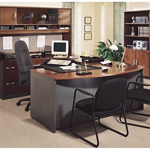 Bush Furniture Corsa Series U-Shape Office Set with Hutch in