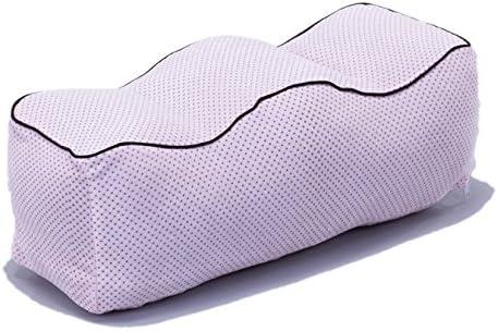 [スポンサー プロダクト]アストロ 足枕 男女兼用 ピンク ドット柄 パイル地カバー付 まるごと洗える 304-31