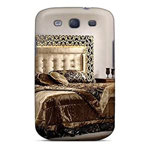 Special Design Back A Touch Of Gold Phone Case Cover For Galaxy S3