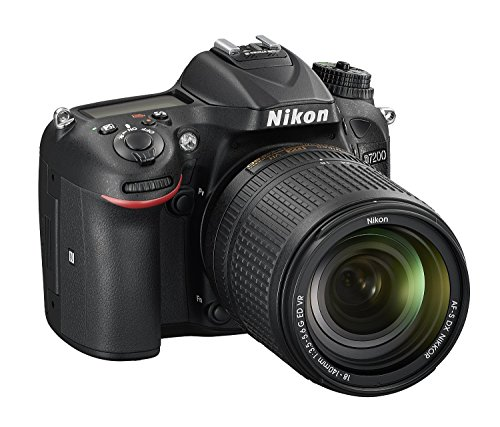 Nikon D7200 24.2 MP Digital SLR Camera (Black) with AF-S 18-140mm VR Kit Lens and 16GB Card, Camera Bag 2