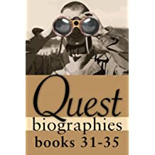 Quest Biographies Bundle — Books 31–35: Harriet Tubman / Laura Secord / Joey Smallwood / Prince Edward, Duke of Kent / John A. Macdonald (Quest Biography)