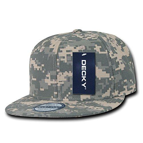 DECKY Inc Flat Bill Digital Camo Snapbacks Baseball Caps 1047 Baseball Caps