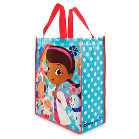 "Disney Doc McStuffins Kid's Colorful Roomy Reusable Tote Bag (15"" x 12"" x 6"")"