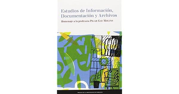 Amazon.com: Estudios de información, documentación y ...