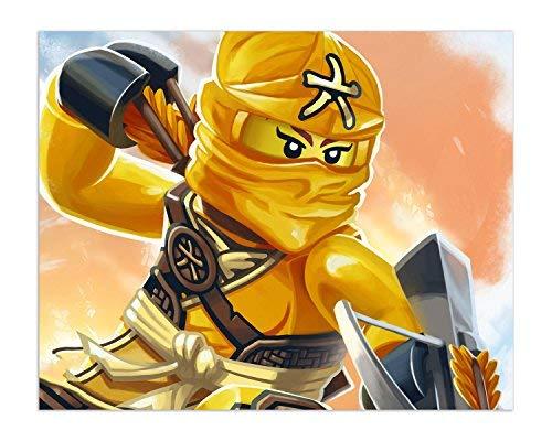 Jual Ninjago 2017 Poster Prints Set Of 6 Ninja Lego Movie Decor