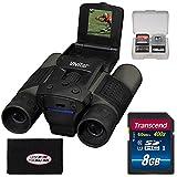 Vivitar 12x25 Binoculars with Built-in Digital Camera with 16GB Card + Accessory Kit