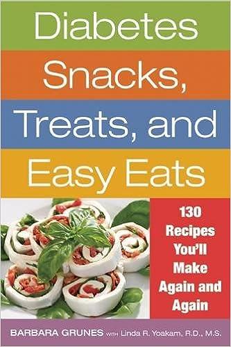 Diabetes Snacks, Treats, and Easy Eats: 130 Recipes Youll Make Again and Again