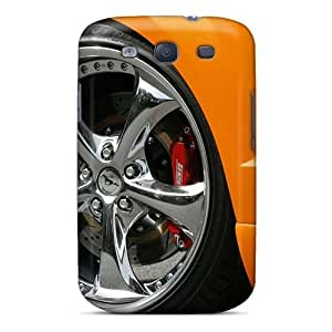 Maria N Young Perfect Tpu Case For Galaxy S3/ Anti-scratch Protector Case (geiger Ford Mustang Gt 520 Wheel)