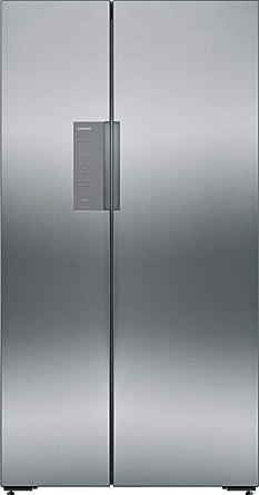 Siemens KA92NVI35 iQ300 - Amerikaanse koelkast - RVS: Amazon.es ...