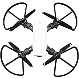 Loveblue for DJI Spark Drone Propeller Guards Circle Quick Release Easy Mount, Detach No Tool Needed, 4 Piece (Black)