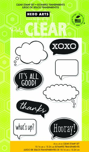 Hero Arts It's All Good Clear Stamp Set