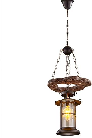 Flashing God D15.7 Retro Loft Chandelier Lighting Wooden Ceiling Light Fixtures Cafe Store Lighting Pendant Lamp