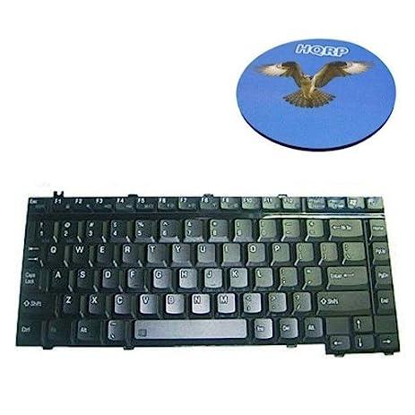 amazon com hqrp laptop keyboard for toshiba satellite a105 s4374 rh amazon com