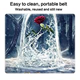 DISNEY COLLECTION Mouse Pad Rectangle Stitched Edges 2017 Beauty and The Beast Movie Poster 7 Cute