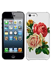 DIY Pretty Beautiful Flower Hard Case Cover Fit For iPhone 5C