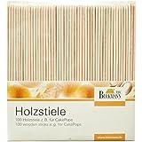 Birkmann 330276 Holzstiele, 100 Stück